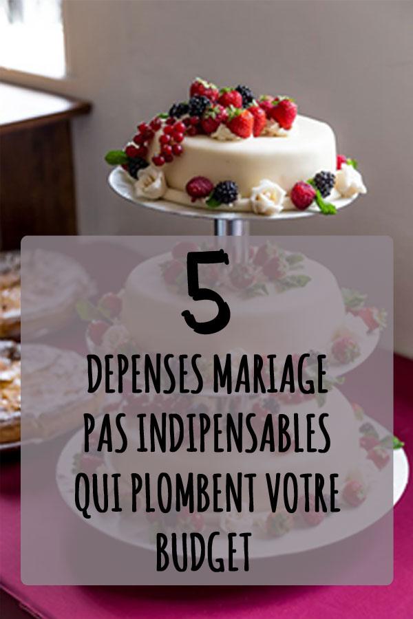 5 types de d penses superflues pour votre mariage mon mariage pas cher. Black Bedroom Furniture Sets. Home Design Ideas