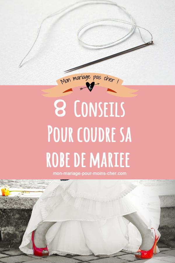 8 conseils pour coudre une robe de mari e mon mariage - Comment decorer une corbeille de mariage ...