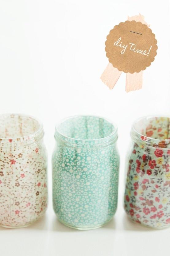 Bien-aimé 21 idées de déco de mariage avec des pots en verre de récup' - Mon  UG37