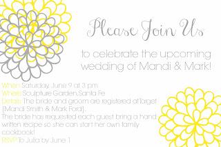 Remerciement invitation mariage en anglais