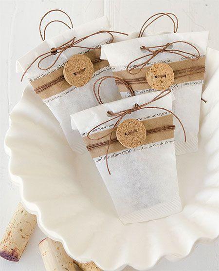 6 id es d co mariage r aliser avec des filtres caf - Comment emballer les cadeaux ...