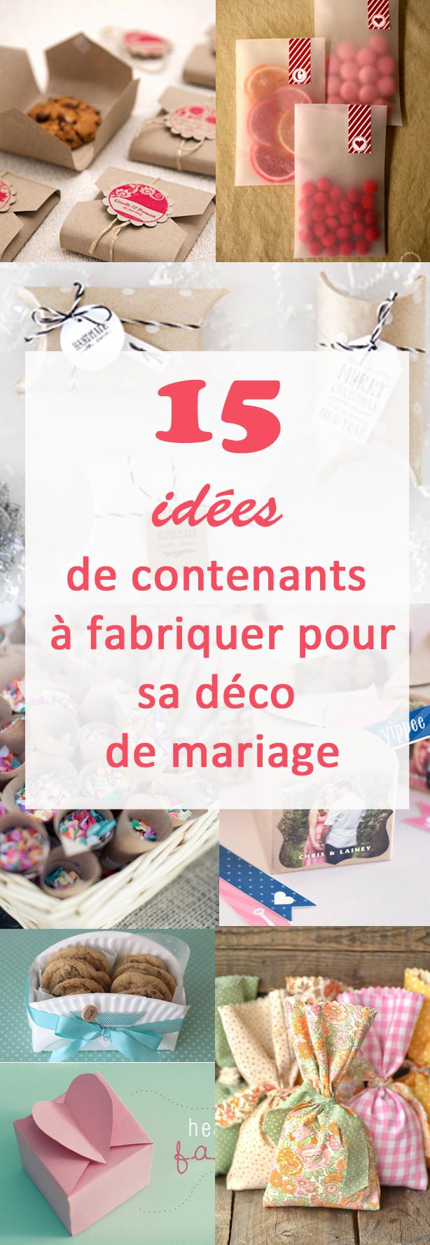 id e d co pour mariage a faire soi meme id es et d. Black Bedroom Furniture Sets. Home Design Ideas
