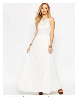 ... fait servir de robe de mariée voici un de mes modèles coup de coeur