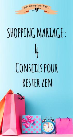 Comment gérer son shopping mariage sans stress et gagner du temps