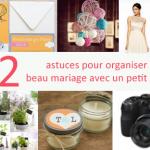 22 astuces pour un beau mariage pas cher