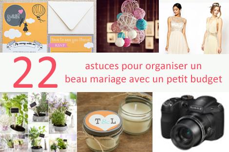 22 astuces pour un beau mariage pas cher mon mariage pas cher. Black Bedroom Furniture Sets. Home Design Ideas