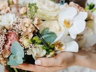 nouveau concept de fleurs pour mariage : la wedding box