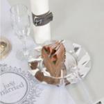 4 conseils pour réussir votre déco de table de mariage