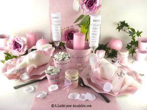 Deco De Table Mariage Pas Cher Theme Rose