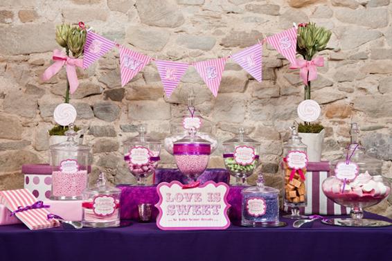 3 Conseils Pour Une Déco De Candy Bar à Petits Prix Mon Mariage
