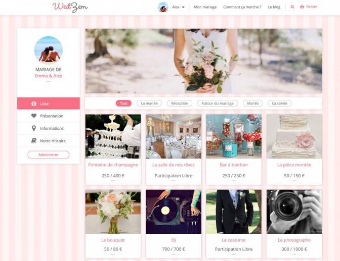 Site pour mariage france