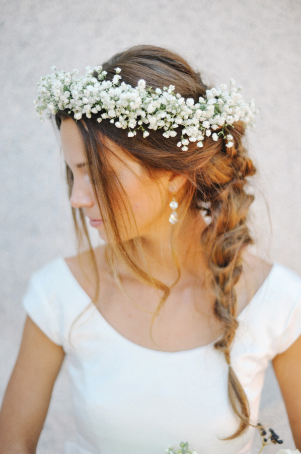 La Couronne De Fleurs L Accessoire Tendance Pour Votre Mariage