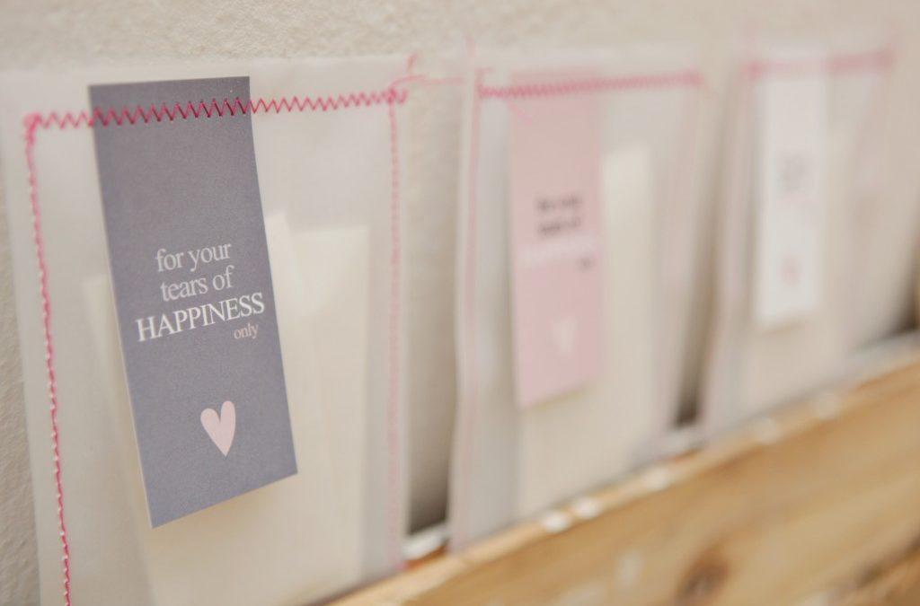 15 pochettes, sachets ou contenants à fabriquer soi-même pour sa déco de mariage