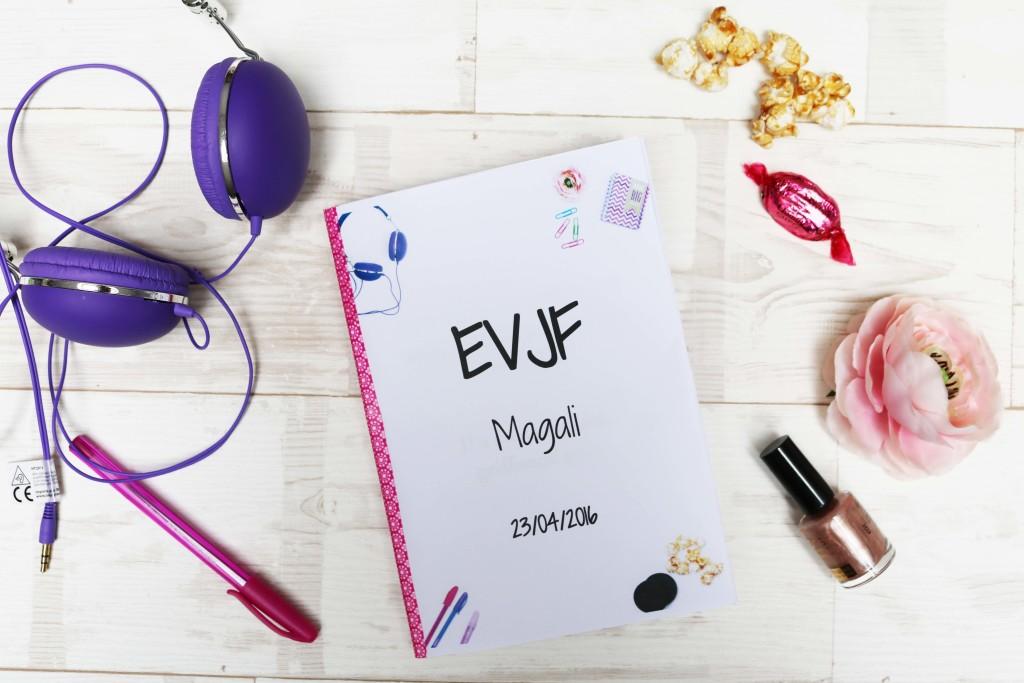Berühmt Un carnet souvenir EVJF à offrir à la mariée - modèle gratuit  YD62