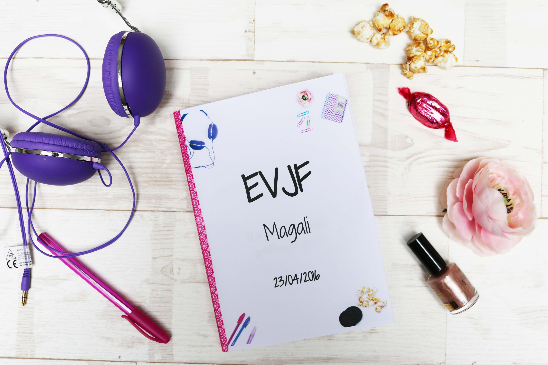 Un carnet souvenir EVJF à offrir à la mariée – modèle gratuit !
