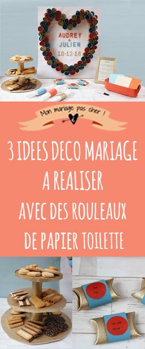 3 idées déco récup' pour votre mariage à réaliser avec des rouleaux de papier toilette