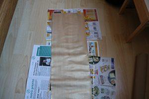 Livre D'or Faire Rouleau De Papier Toilette