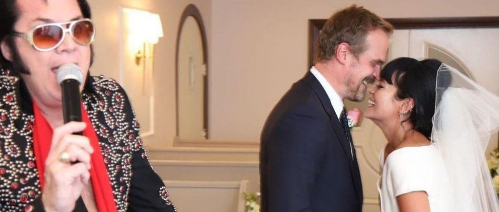 Mariage Lilly Allen Et David Harbour