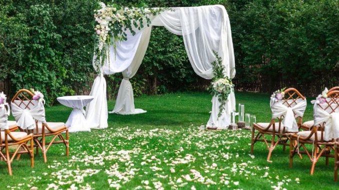 organiser son mariage en extérieur