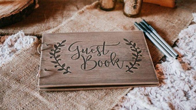 Guest Book Pour Mariage Avec Stylo