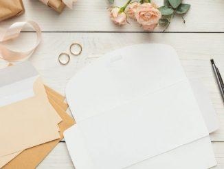 focus sur les invitations de mariage