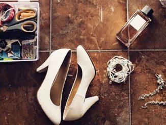 Trousse Urgence Mariage Kit De Couture Parfum Chaussures Et Bijoux