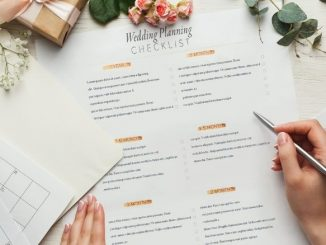 Wedding Planning Checklist Avec Alliances Et Calendriers