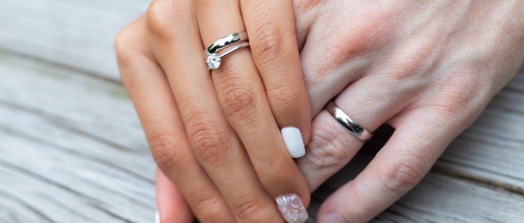 bague en diamant mariage fiancailles